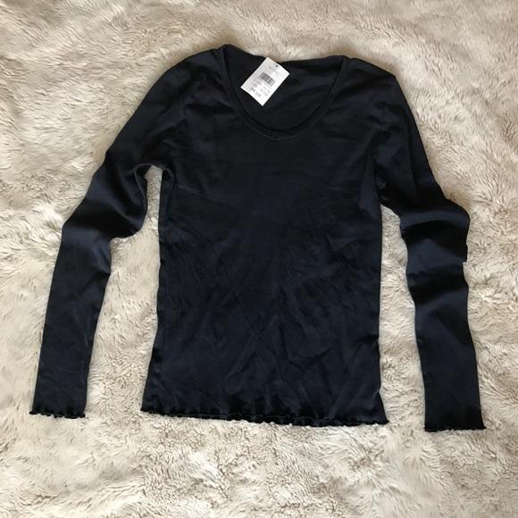 c9bb89467c Brandy Melville Tops | John Galt V Neck Long Sleeve | Poshmark